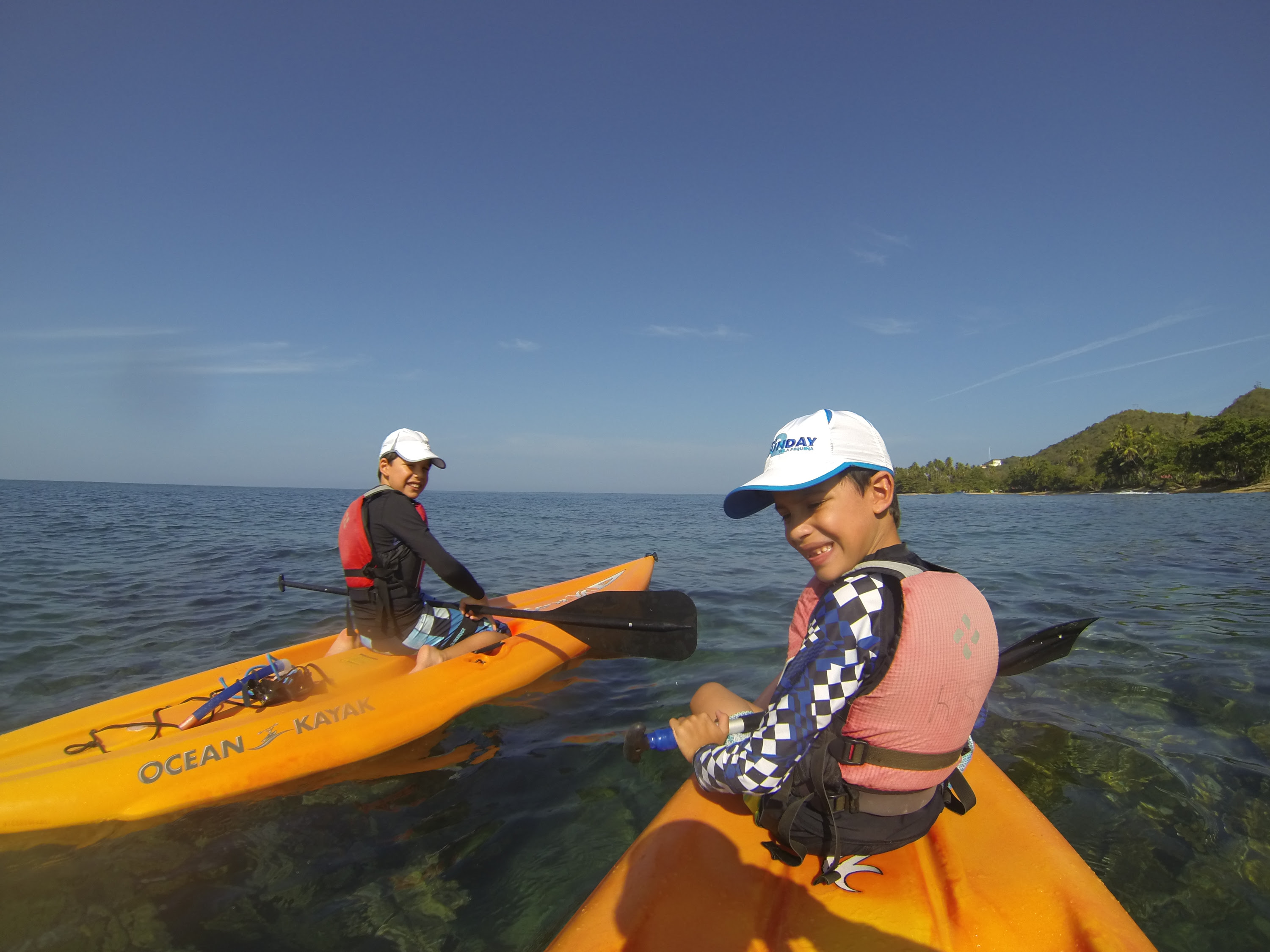Sea Kayaking Rincon Puerto Rico Vacations