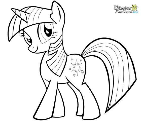 Dibujos Para Colorear Mi Pequeno Pony Dibujos Animados