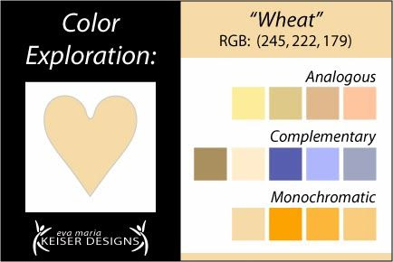Explore Color:  Wheat