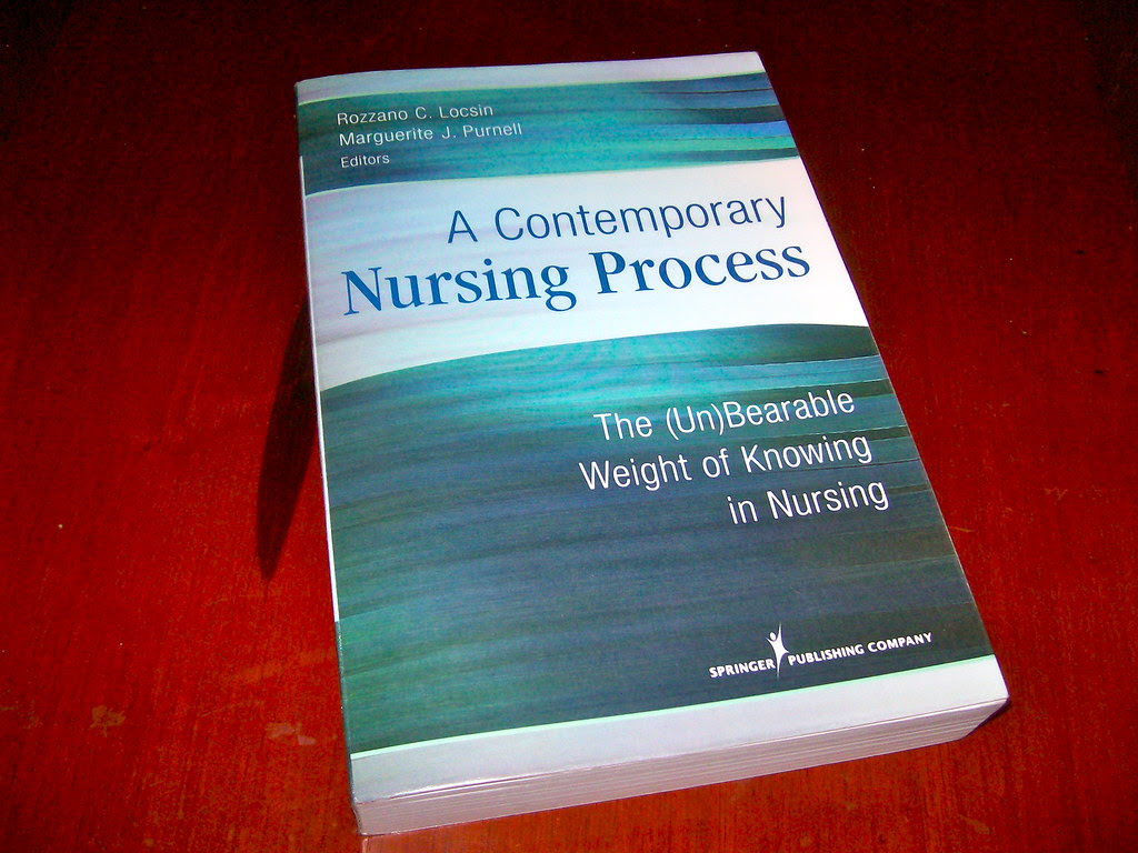 A contemporary nursing process. The (Un)Bearable weight of knowing in nursing