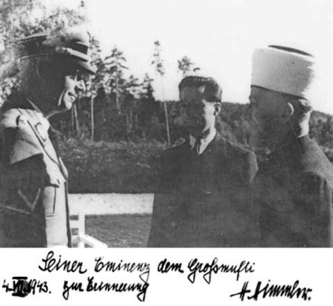 Hadj Amin Al Husseini, le grand mufti de Jérusalem, père du mouvement palestinien
