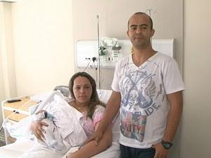 Bebê Feira Bahia 2 (Foto: Reprodução/TV Subaé)