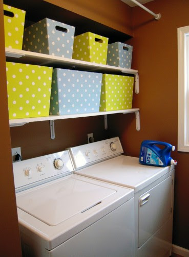 Laundry room makeover. And getting naked happy. | thecreativejunkie.