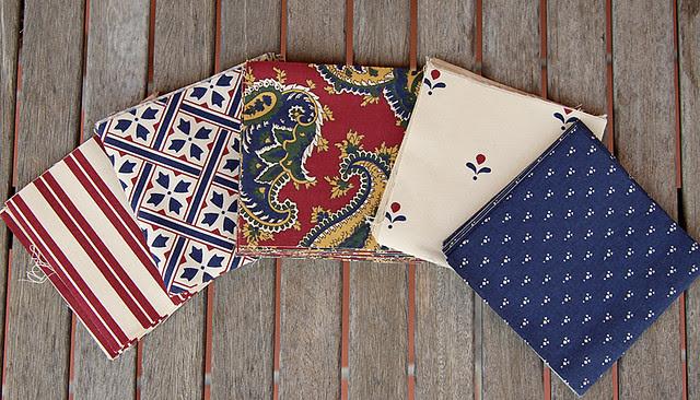 Laura Ashley patchwork squares