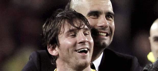 Pep Guardiola va por su noveno título en una final ya 'amiga' para el Barcelona