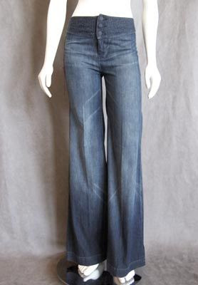 Seven For All Mankind High Waisted Tahoe Jeans