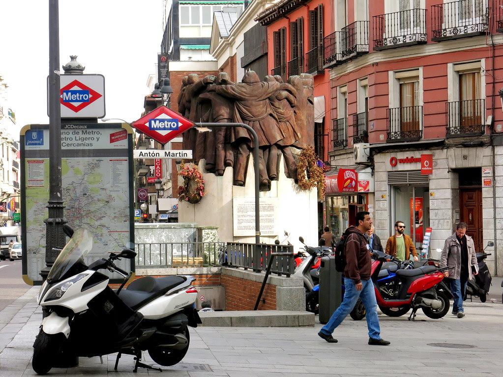 por las calles de madrid en primavera de 2013