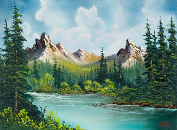 Bob Ross Works Hobitfullringco