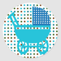 Baby Carriage Gifts sticker