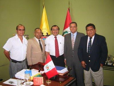 Circulo de Periodistas Taurinos del Perú y Alcalde del Rímac