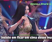 A sensual Simaria da dupla Simone e Simaria