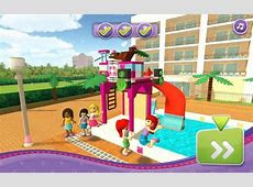 Lego Friends: Pool Party   Free Play & No Download   FunnyGames.us