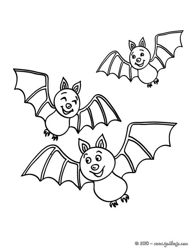 Dibujos Para Colorear Murcielagos Volando Eshellokidscom