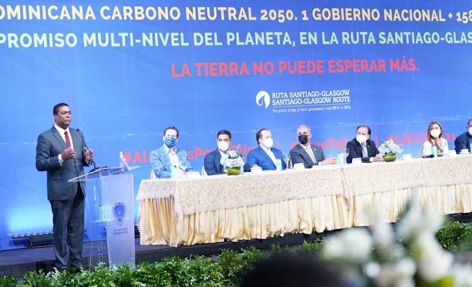 ALCALDES SE COMPROMETEN CON LA NEUTRALIDAD DE CARBONO AL 2050