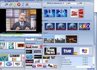 Regardez la télé et écoutez les radios grâce à Web Media Player
