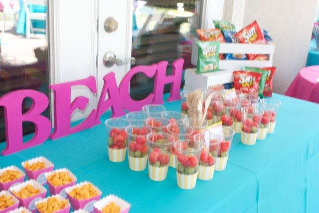 Back Yard Beach Birthday Party Ideas