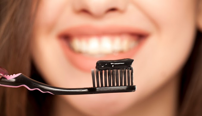DIY Charcoal Toothpaste To Get White And Strong Teeth