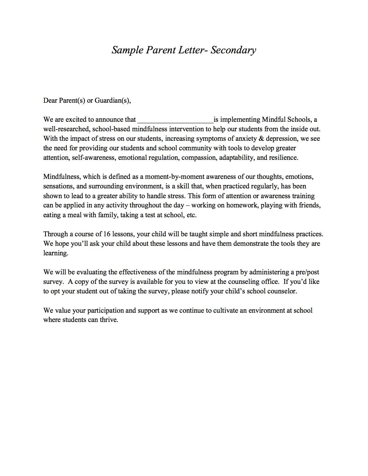 Mindfulness Program Materials | Davis Behavioral Health ...