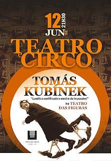 Teatro e Circo com Tomás Kubínek