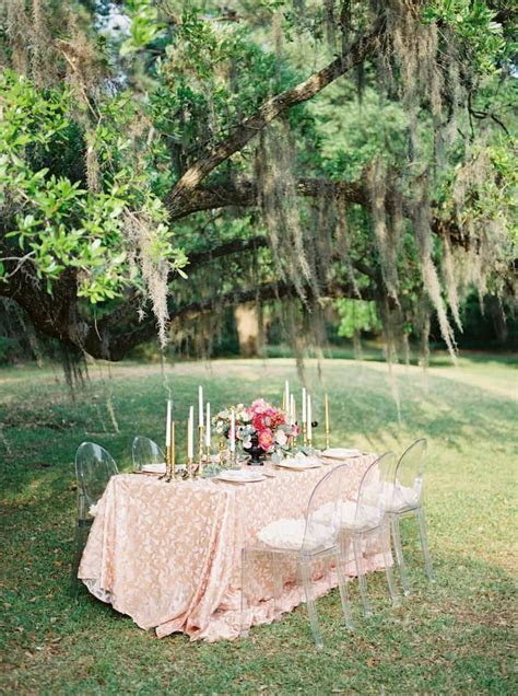 Garden Romance in South Carolina Wedding Inspiration