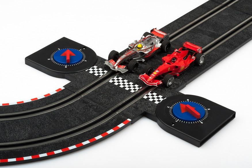 Slot race car set