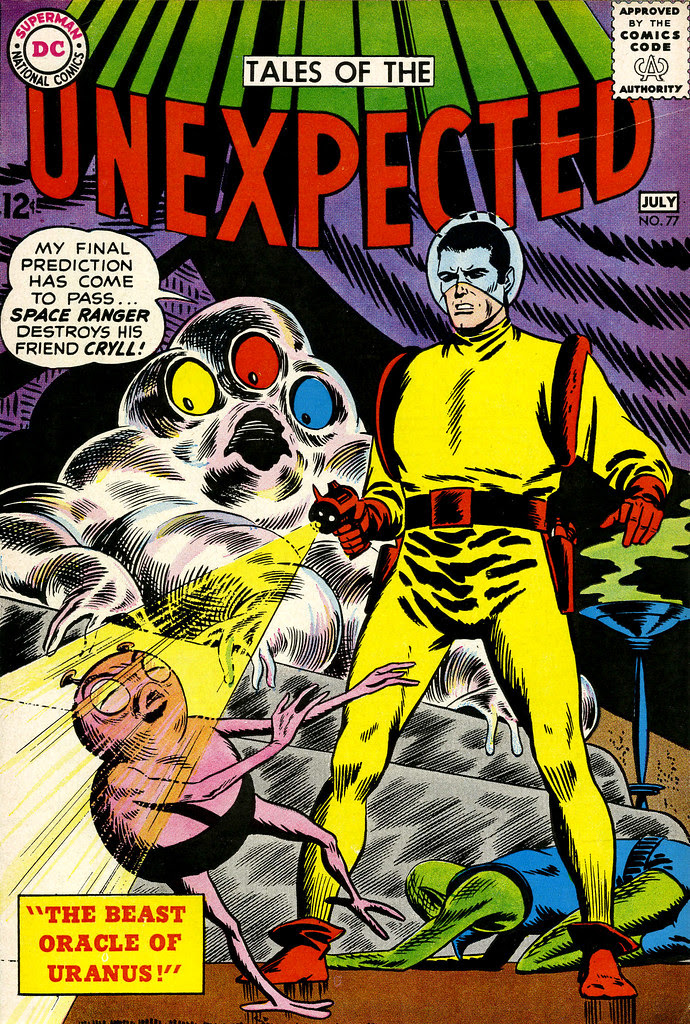 Tales of the Unexpected #77 (DC, 1963) Bob Brown cover