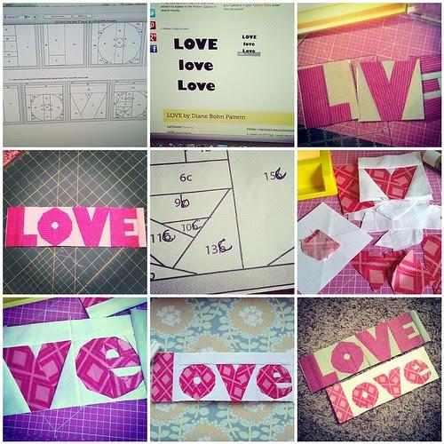 LOVE process mosaic