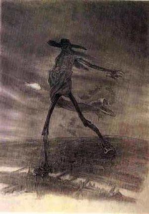 """""""Satan Sowing Seeds"""" by Felicien Rop..."""