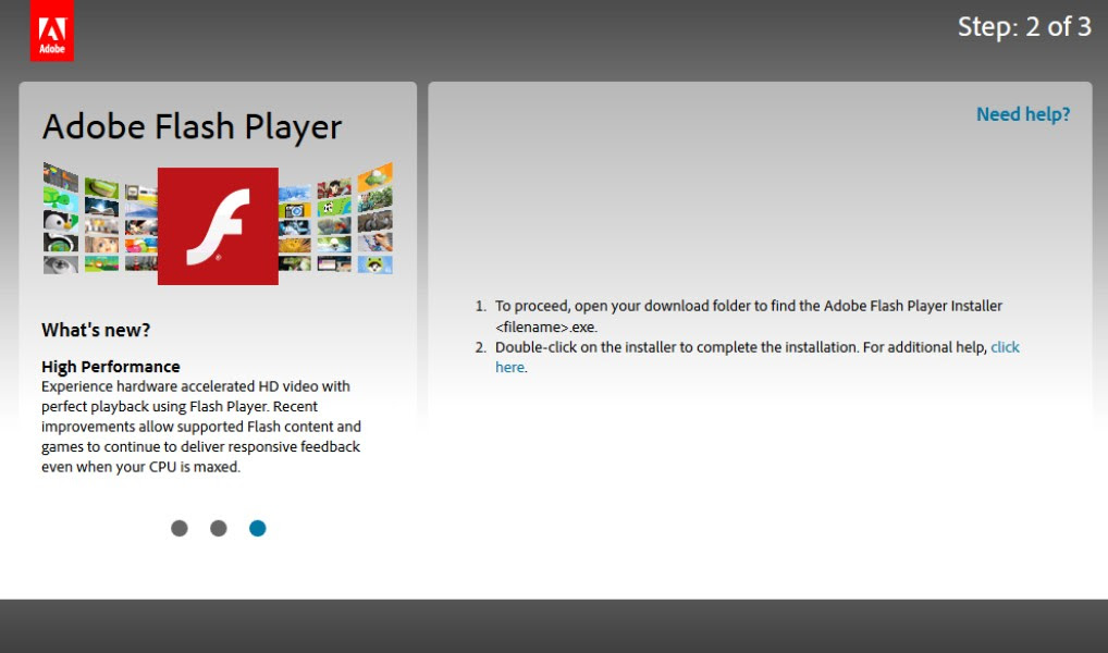 Giophone: Download Adobe Flash Player Activex