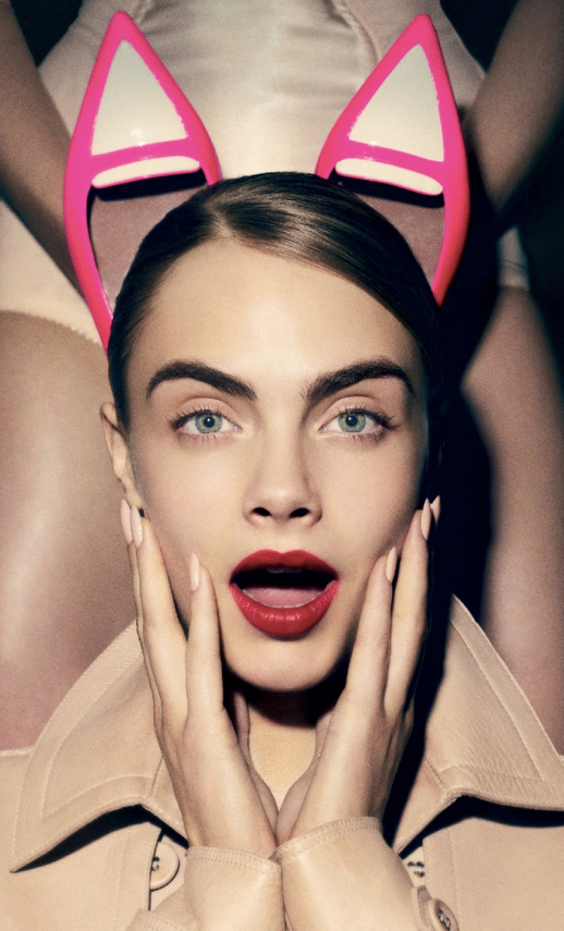 LE FASHION BLOG A HEADS UP CARA DELEVINGNE LOVE MAGAZINE RED LIPS TRENCH COAT HOT PINK NEUTRAL TWO TONE POINTY TOE TABITHA SIMMONS FLATS SHARP NUDE NAILS NAIL POLISH MANICURE GOOGLE READER BLOGLOVIN FOLLOW SOCIAL MEDIA FACEBOOK TWITTER PINTEREST photo LEFASHIONBLOGAHEADSUPCARADELEVINGNELOVEMAGAZINE.png