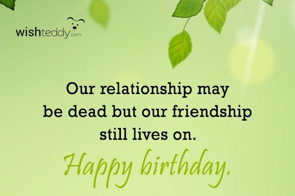 Birthday Wishes For Ex Boyfriend Page 2