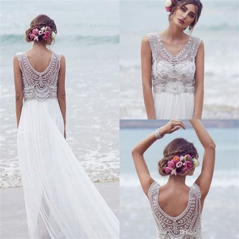 Anna Campbell 2016 Wedding Dresses Beading Crystals