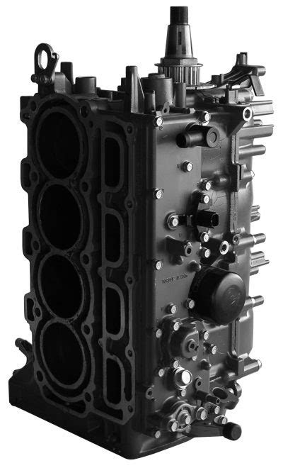 Remanufactured 115hp 4 Cyl 4 stroke short block Mercury