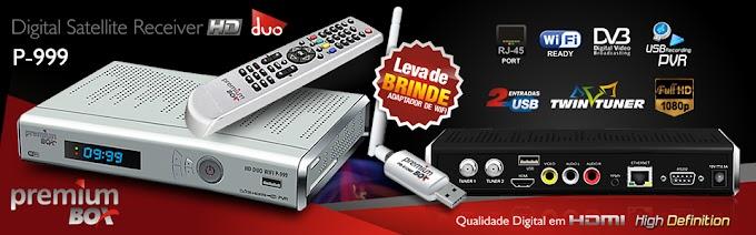 NOVA ATUALIZAÇÃO [IKS] PREMIUMBOX P999 HD WIFI V1.24 - 31/10/2016