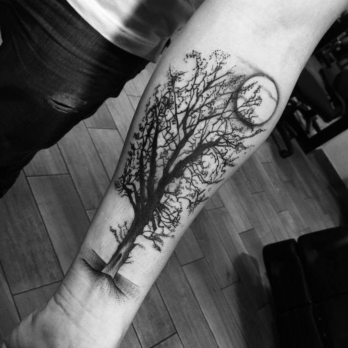50 Mighty Tree Tattoo Designs And Ideas Page 3 Of 5 Tattoobloq