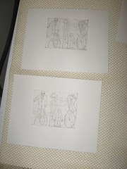 Etching Step 3: Printing the Line Etch