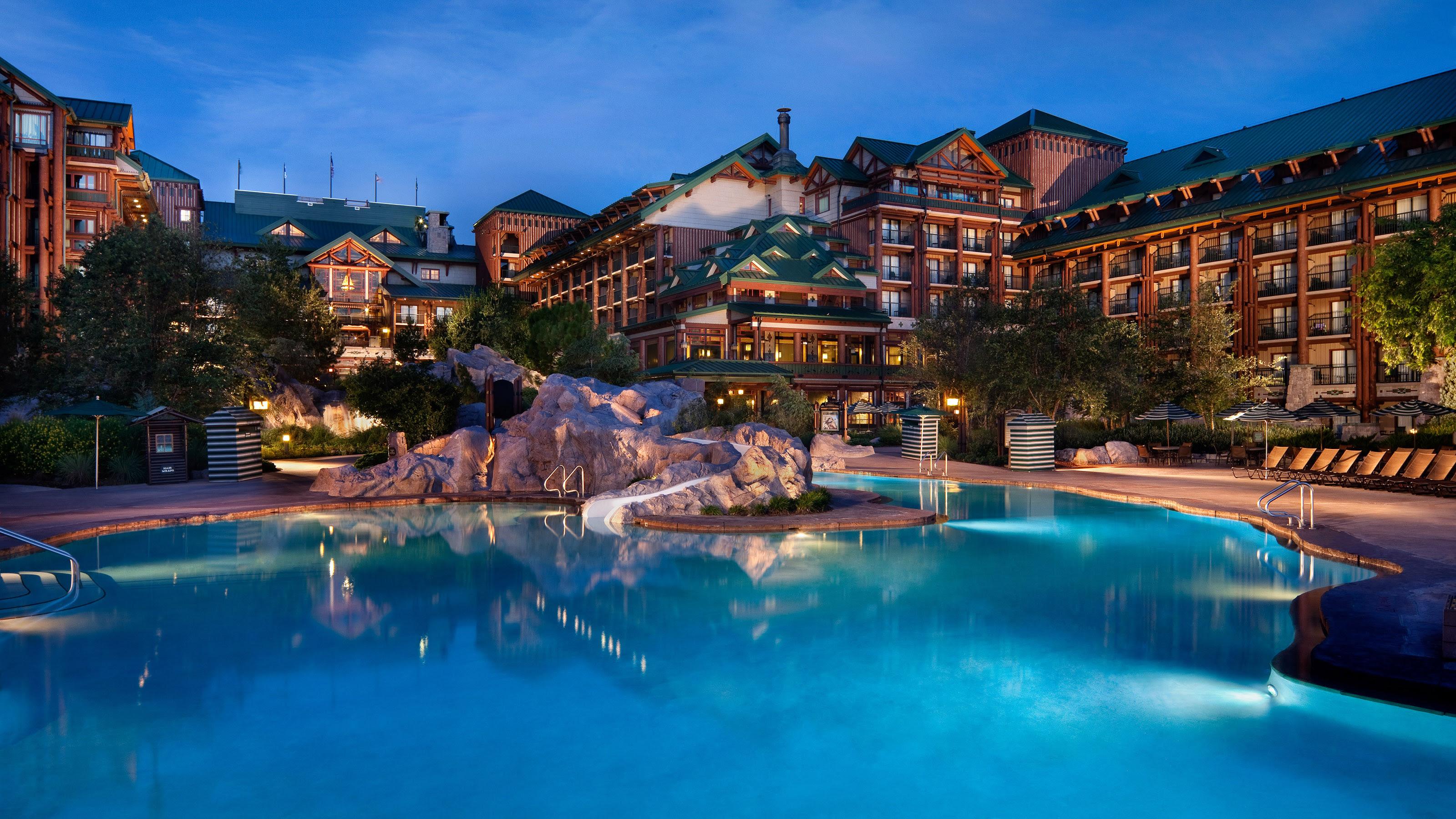 Disneys Wilderness Lodge Serene Luxury  Magical