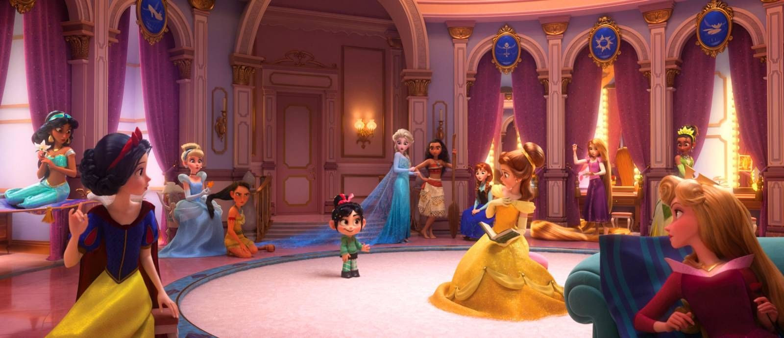 All The Disney Princesses Will Appear Together In 'Wreck ...