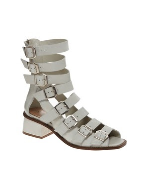 Image 1 of ASOS PREMIUM FALL OUT Gladiators