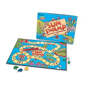 Sum Swamp Addition and Subtraction Game