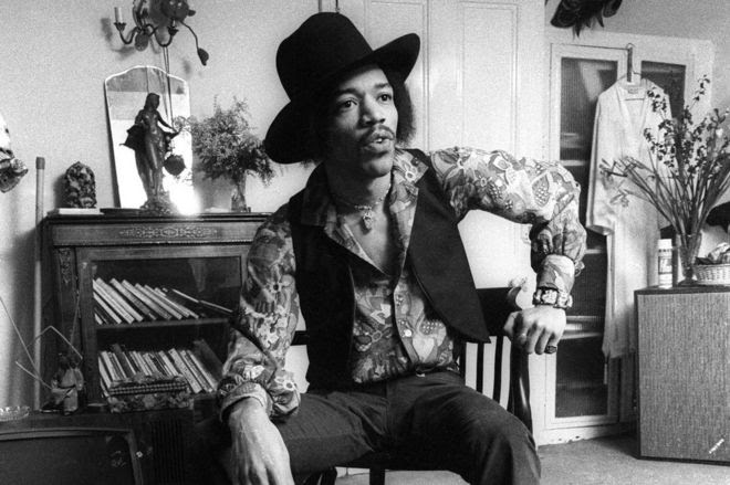 Jimi Hendrix at Brook Street