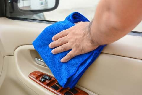How can you disinfect your car with homemade products