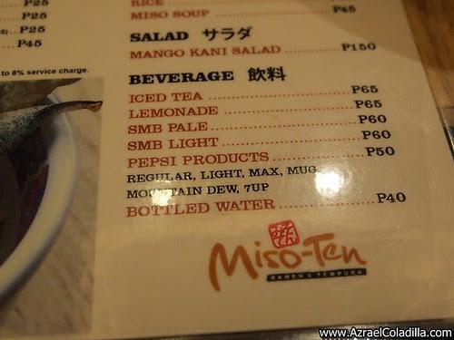 Miso-Ten in Robinsons Manila - photos by Azrael Coladilla of Azraelsmerryland.blogspot.com