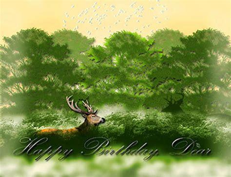 Dear Deer Birthday! Free Birthday for Him eCards, Greeting