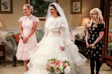 "Mayim Bialik on Wearing a Wedding Dress in the ""Big Bang"