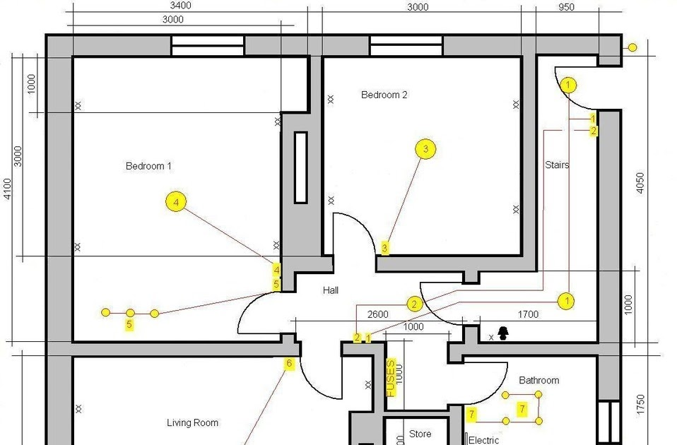 Diagram Electrical Wiring Diagram 3 Bedroom Flat Full Version Hd Quality Bedroom Flat 12vwiringdiagram Triestelive It