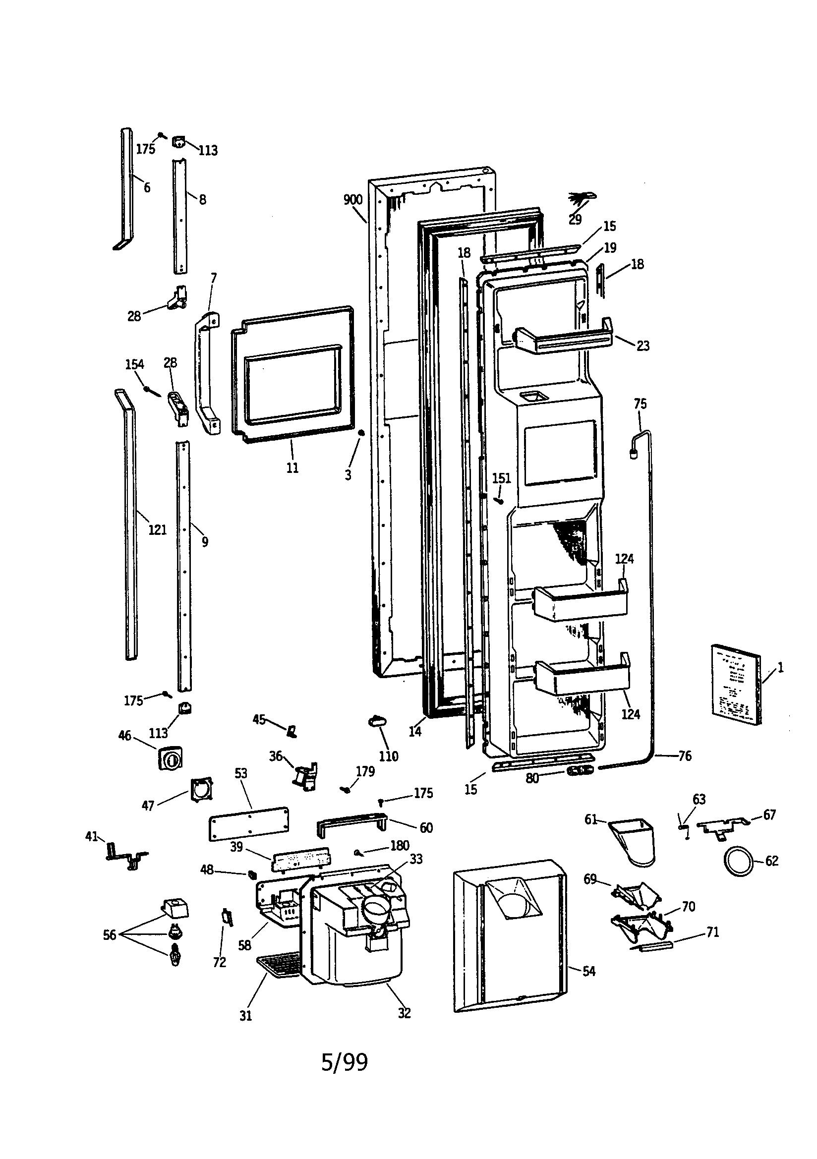 refrigerators parts  vintage refrigerator parts