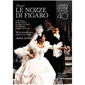 Mozart's Le Nozze di Figaro - Metropolitan Opera James Levine Exclusive DVD