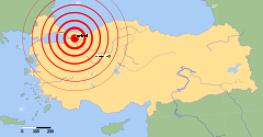 1999 İzmit earthquake map.svg