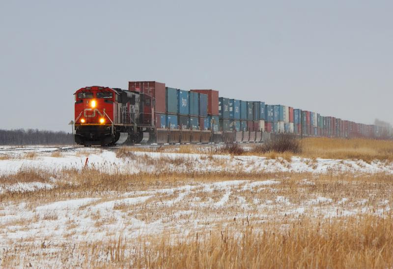 CN 8847 in Winnipeg